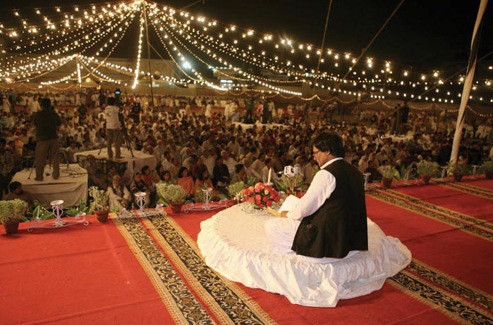 The 2009 Aalami Musha'ira in Karachi, Pakistan