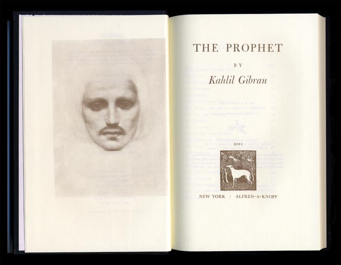 The 2011 edition of Kahlil Gibran's The Prophet