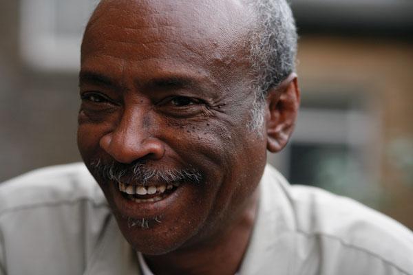 "Somalia's noted contemporary poet Maxamed Xaashi Dhamac, known as ""Gaarriye"""