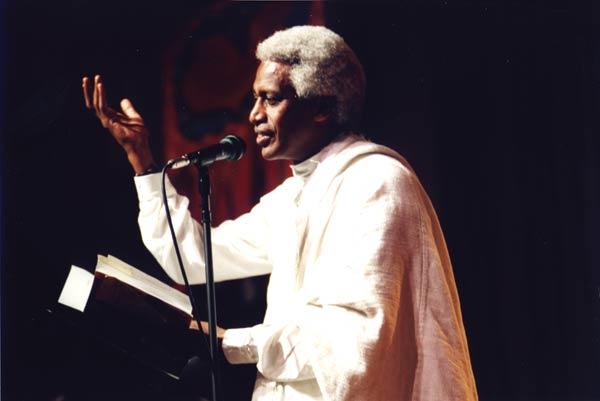 Eritrea's pioneering Tigrinya poet Reesom Haile, 2001
