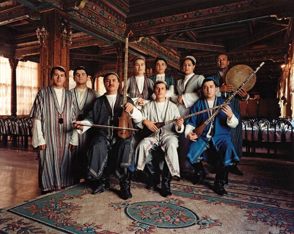 Members of the Academy of Maqom from Tajikistan